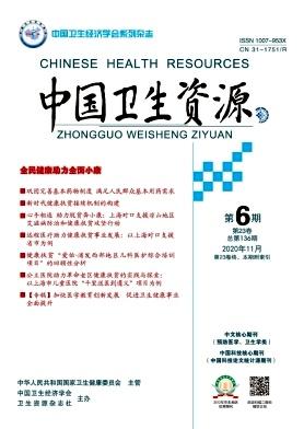 中国卫生资源杂志