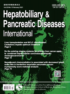 Hepatobiliary & Pancreatic Diseases International